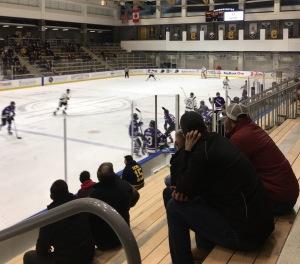View from the stands Staff Writer: Matt Morris