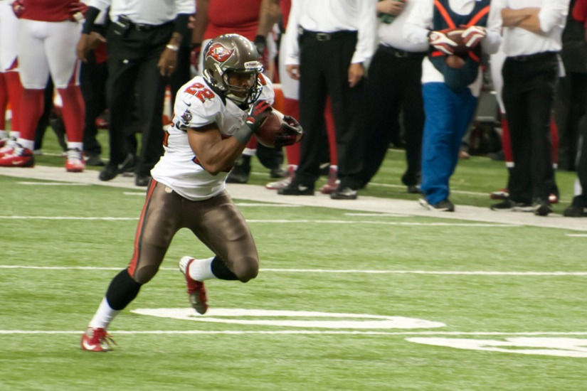 Photo accredation to Football Schedule, Doug Martin